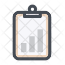 Clipboard Chart Track Icon