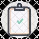Clipboard Tracking Verify Icon