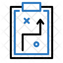 Clipboard Management Planning Icon