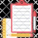 Memo Note Clipboard Icon