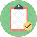 Clipboard List Tracking Icon
