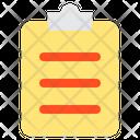 Clipboard Memo Notes Icon