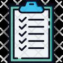 Clipboard Checklist List Icon