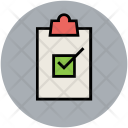 Clipboard Checklist Successfully Icon