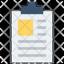 Clipboard Tasks Finance Icon