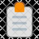 Task Clipboard File Icon