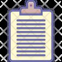 Clipboard Editor Document Icon