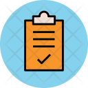 Clipboard Approved List Icon