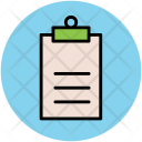 Clipboard Reminder Agenda Icon