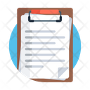 Clipboard Paper Page Icon