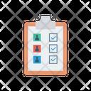 Clipboard Checklist Hiring Icon