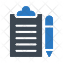 Clipboard Project Document Icon