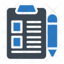 Clipboard Project Sheet Icon