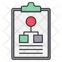Network Clipboard Connection Icon
