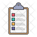 Clipboard List Project Icon