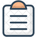 Education Clipboard Document Icon