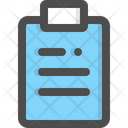 Clipboard Checklist Evaluate Icon