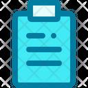 Clipboard Checklist Evaluate Icon