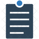 Business Financial Clipboard Icon