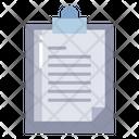 Artboard Clipboard Document Icon