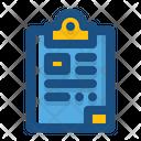 Clipboard Checklist File Holder Icon