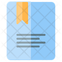 Bookmark Notebook Agenda Icon