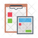 Clipboard Accounting Stats Icon
