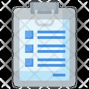 Clipboard Document Archive Icon