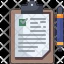 Clipboard Archive Education Icon