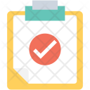 Clipboard Report Approved Icon
