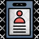 Clipboard Cv Documents Icon