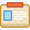 Clipboard Employee Work Icon