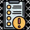 Clipboard List Customer Icon