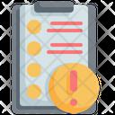 Clipboard Checklist Customer Icon