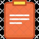 Clipboard File Paper Icon