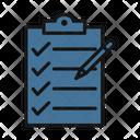 Clipboard Checklist Shopping List Icon