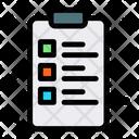 Clipboard List Tasks Icon