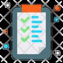 Clipboard Check List List Icon