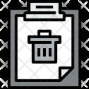 Clipboard Bin File Icon