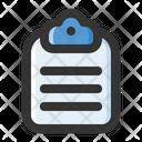 Clipboard Report Checklist Icon