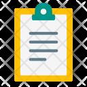 Clipboard Copy Paper Icon