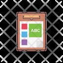 Clipboard Exams Book Icon
