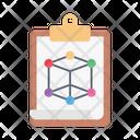 Clipboard Science Education Icon