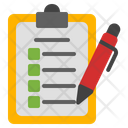 Clipboard Notes Task Icon