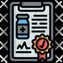 Clipboard Data Guaruntee Icon