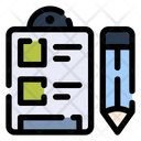 Clipboard Checklist List Icon