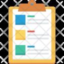 Clipboard List Memo Icon