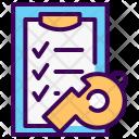 Clipboard Training Progress Icon
