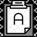 Clipboard Answer File Icon