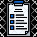 Clipboard Lab Report Test Report Icon